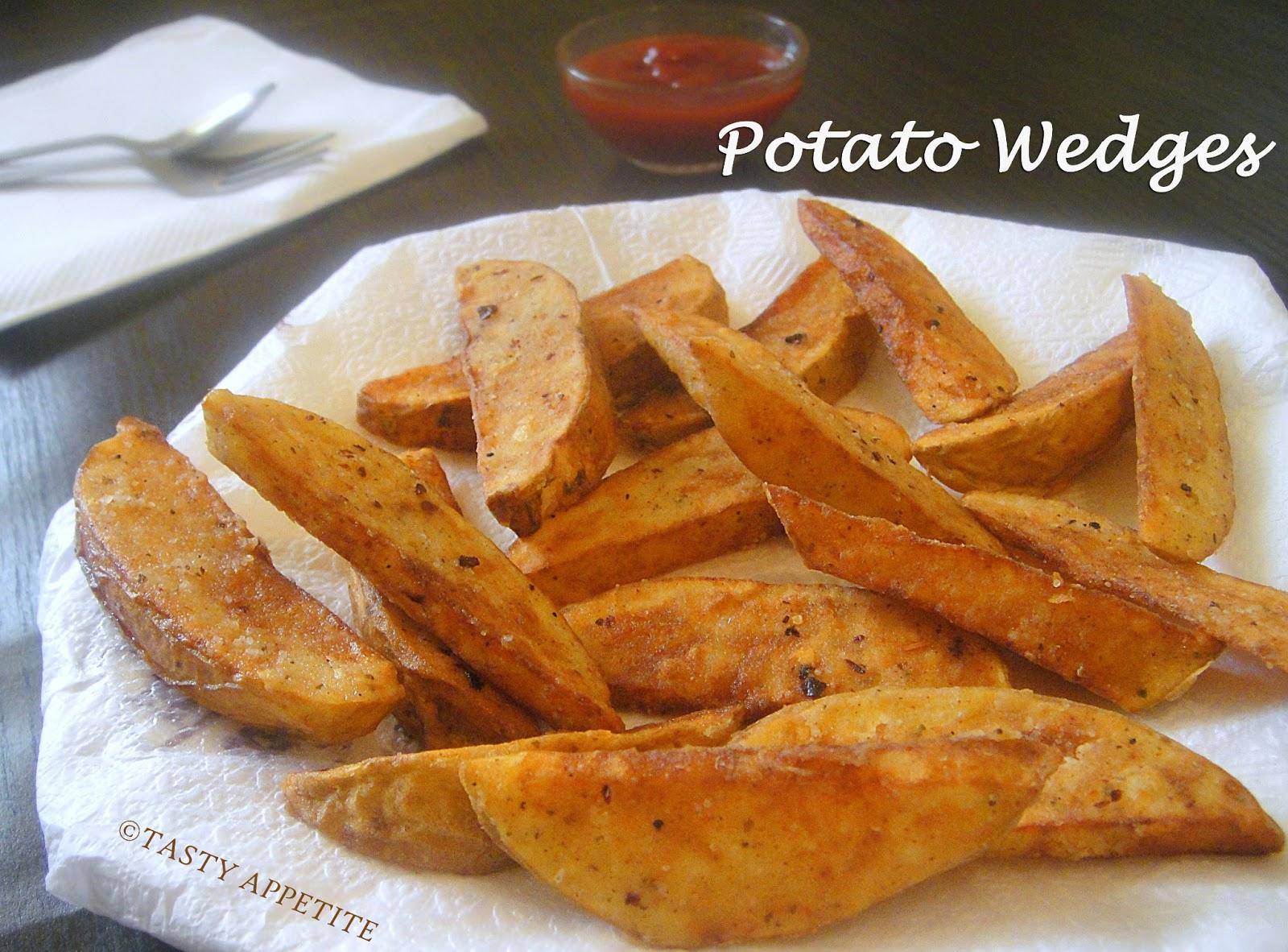 How to make Potato Wedges / Restaurant Style RecipeKfc Fried Potato Wedges Recipe