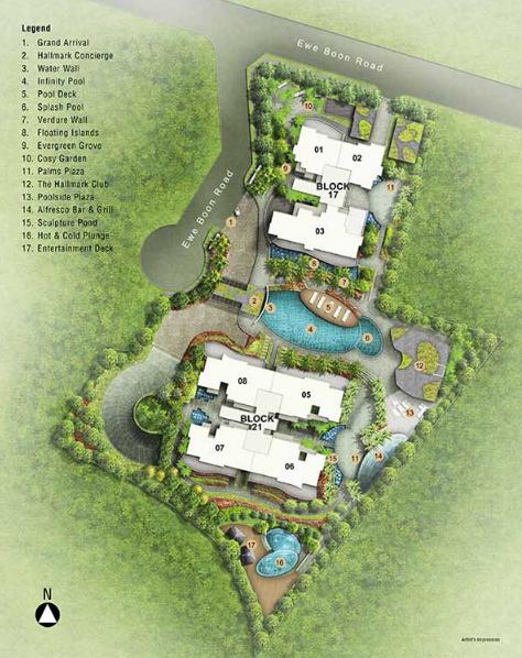 Hallmark Residence Site Plan
