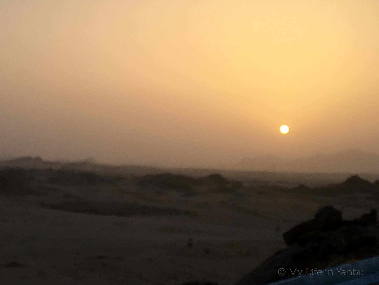 Watch Sunrise from Yanbu Al Nakheel