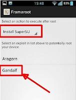 Download dan Langkah mudah menggunakan Framaroot