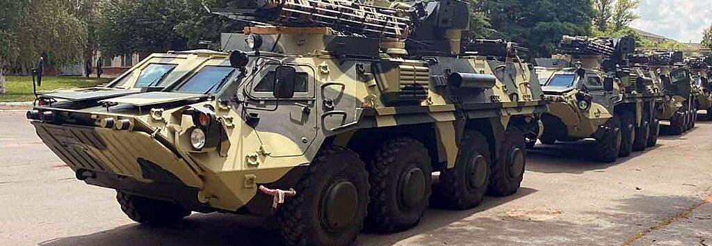 ХКБМ передало ЗСУ передостанню партію БТР-4