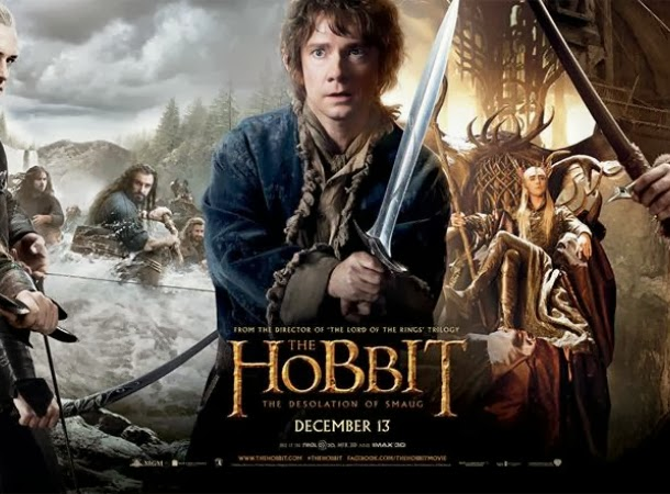 The Hobbit: The Desolation of Smaug Banner Poster