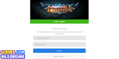 Script Phising Mobile Legends Free Skin Hero Terbaru
