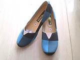 Sepatu wanita murah flat model V
