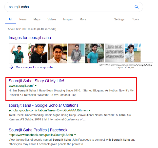 Sourajit Saha Blog