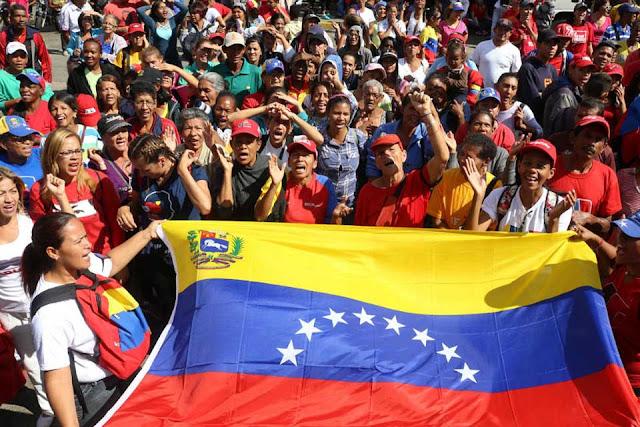 Marcha del chavismo del 13abr a Los Próceres contó con pocos manifestantes