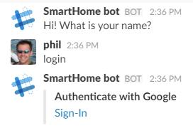 Google oAuth2 using node js and the Microsoft Bot Framework
