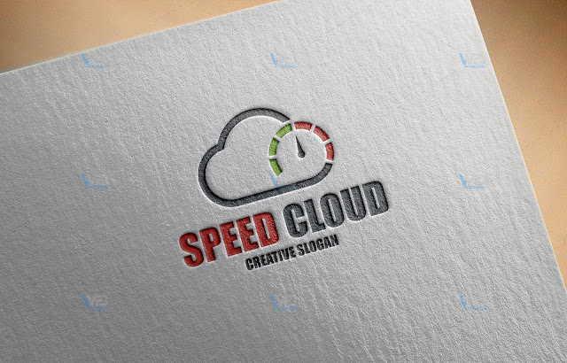 Speed Cloud - WaDesiGh Logo Template