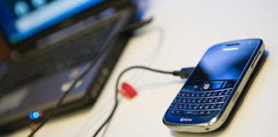 tether phone blackberry