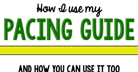 Kindergarten Pacing Guide {with tips for using it!}   The