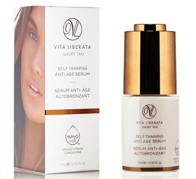 Bring back the glow of summer with Vita Liberata Self Tanning Anti Age Serum!