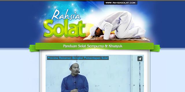 EBOOK RAHSIA SOLAT ! PANDUAN UNTUK UMMAT ISLAM !