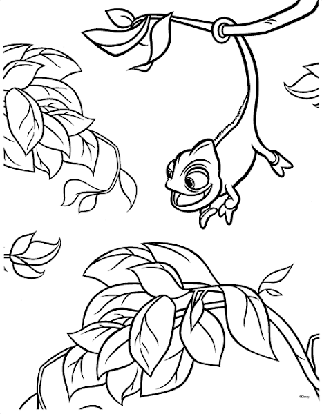 tangled coloring pages maximus ticket - photo#10