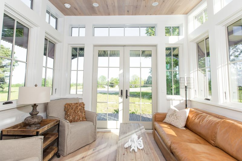 TINY HOUSE TOWN: The Saltbox (450 Sq Ft)