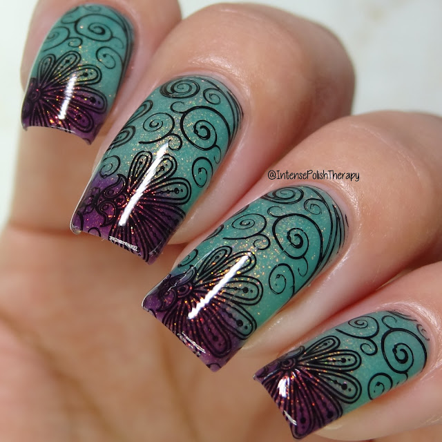Night Owl Lacquer - You Poetic, Land Mermaid