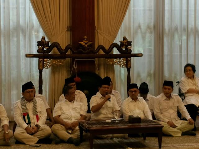 Prabowo: Ahmad Dhani, Tenang Aja...
