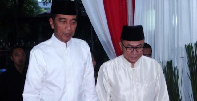 Zulkifli Hasan: PAN Akui Kemenangan Jokowi