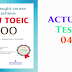 Listening New Toeic 700 - Actual Test 04