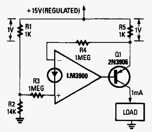 RooDoo Mobil: Constant Current Regulator Circuit Diagram