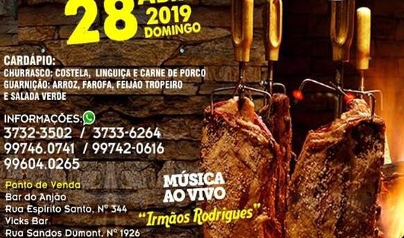 NOCAIJA ORGANIZA 3o CHURRASCO DE CHÃO NO DIA 28