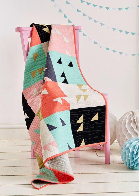 10 ideas de decoración con patchwork
