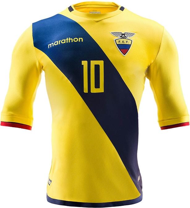 Marathon apresenta novas camisas do Equador - Show de Camisas cde5fec03ac1e