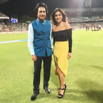Rameez raja IPL girlfriend