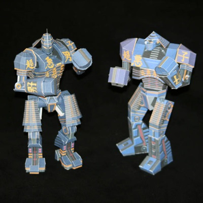 Real Steel Noisy Boy Robot Papercraft