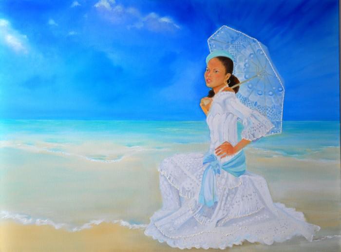 Яркие, красочные и богатые деталями картины. KCatia Creole