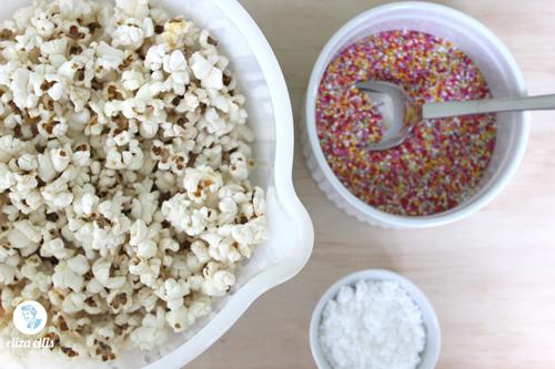 Sprinkles Popcorn - Last Minute Sprinkles Party Part Two