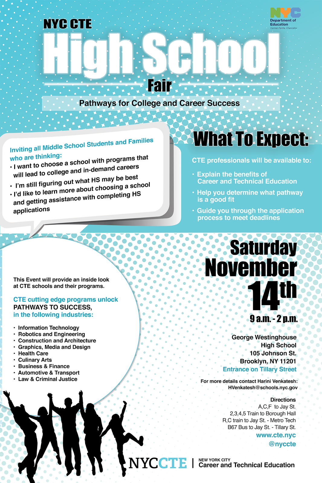 Parents Of Ny Teens Cte High School Fair Nov 14 For -2726