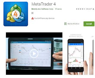 Ulasan Aplikasi Broker Finex di Android