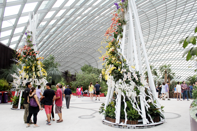Flower Dome Singapore - The Wayfarer