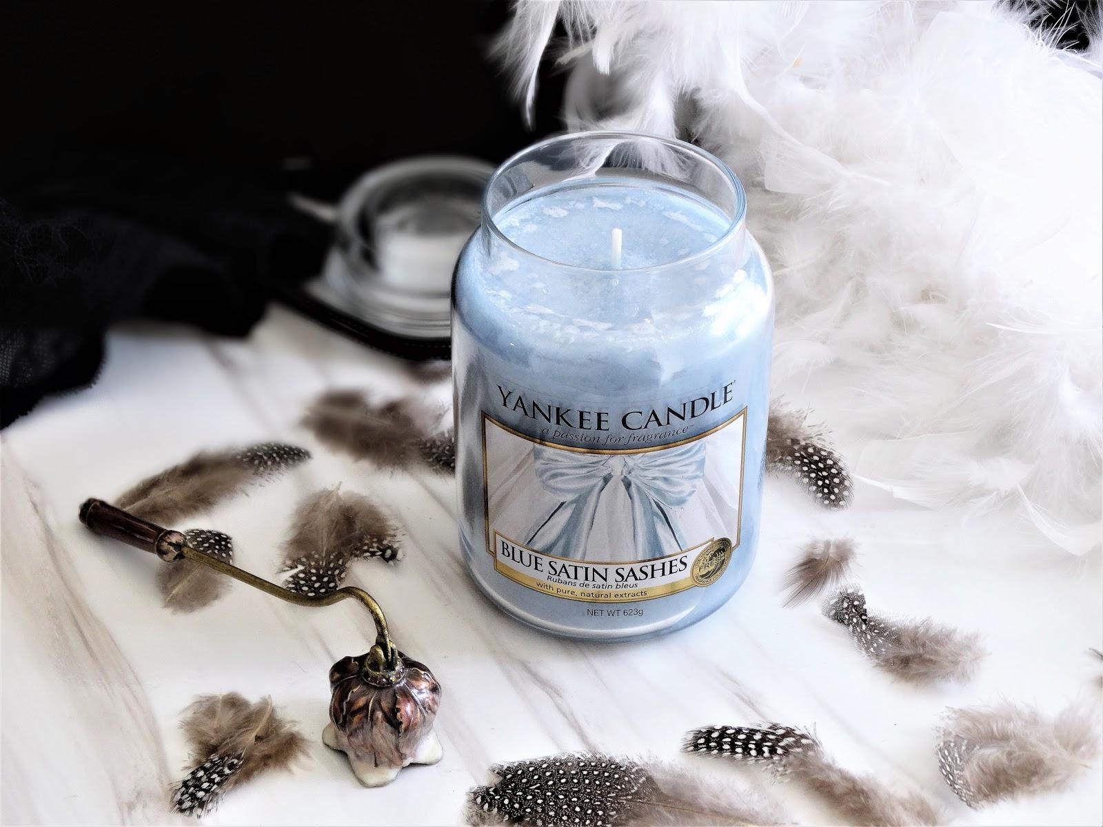 Blue Satin Sashes De Yankee Candle Ambiance Et Fragrance