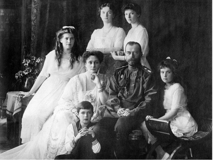 Rodzina Cara Mikolaja II