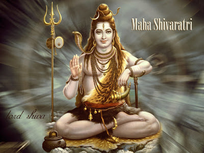 Happy Shivaratri Facebook / Whatsapp Status DP