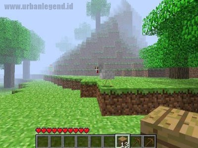 Herobrine Minecraft Creepypasta Urban Legend Indonesia