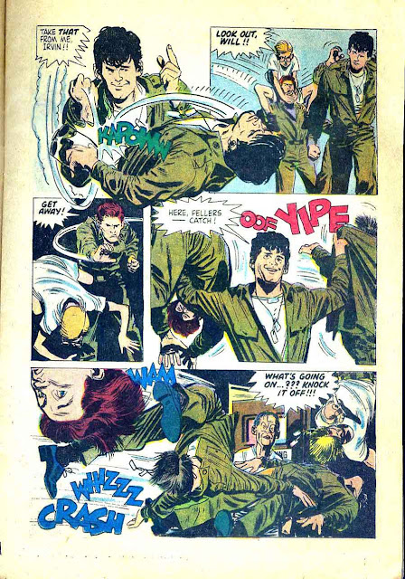 No Time For Sergeants / Four Color Comics #914 - Alex Toth dell comic book page art