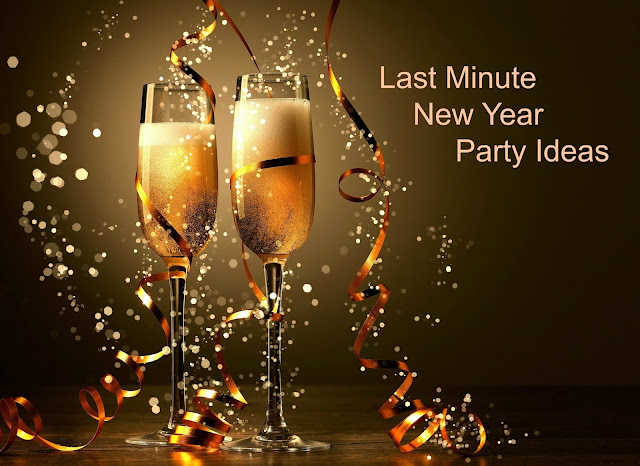 Last Minute New Year Party Ideas