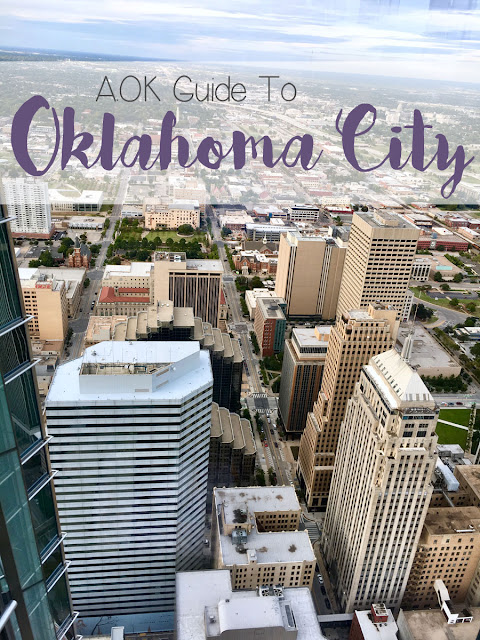 Guide to OKC with Birds Eye View of Downtown