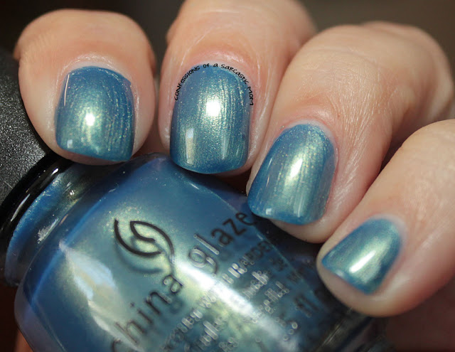 China Glaze Seas and Greetings collection - Joy to the Waves