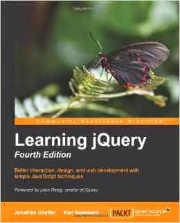 Must read jQuery book for Web Programmers