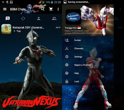 BBM Mod Tema Avengers Apk Plus Clone SuperHero 3.0.0.18 Terlaris