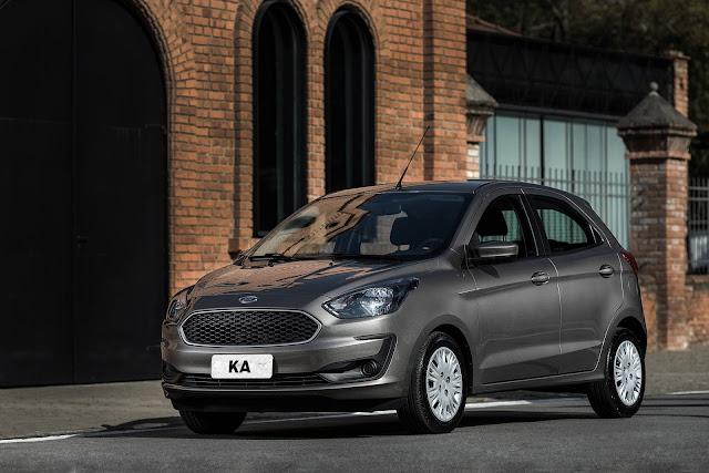 Ford Ka 2019 - recall