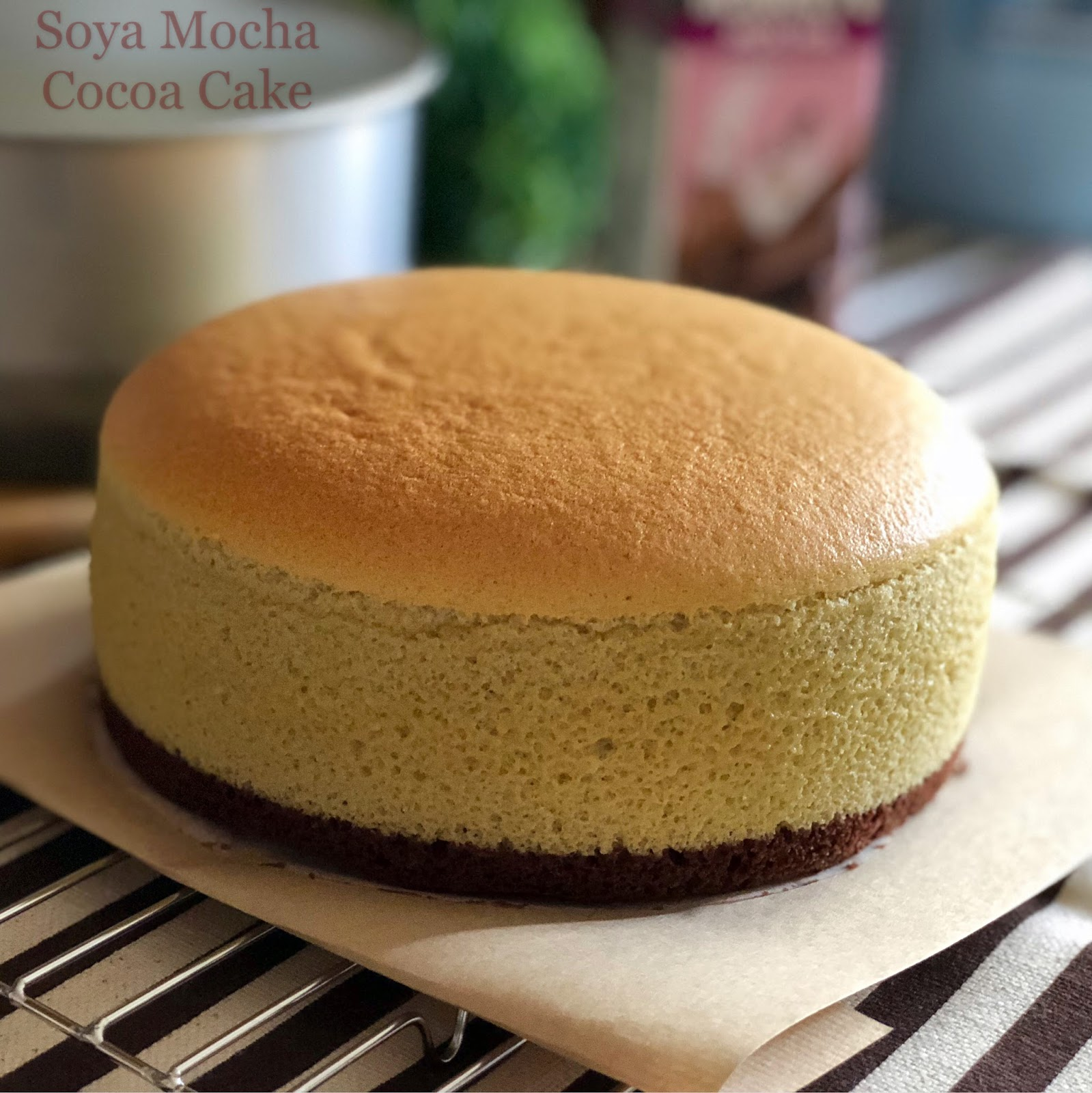 Cakes Using Only Soya Flour
