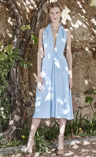 vestido corto Dolores Promesas primavera verano 2017