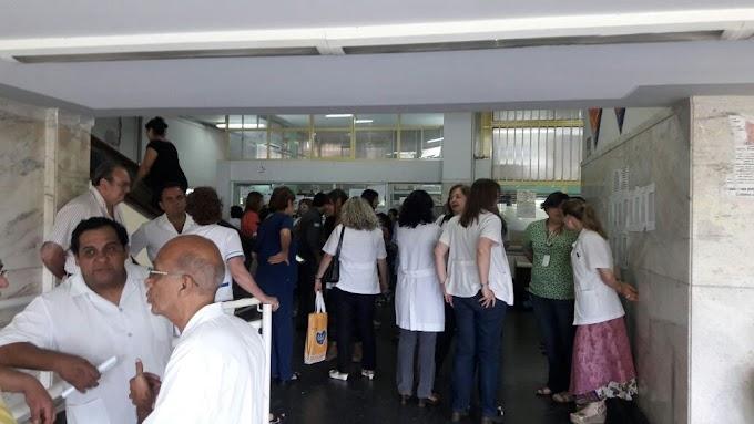 Médicos del Sitas denuncian persecución sindical