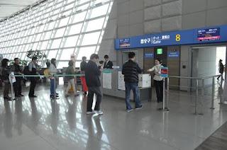 韓國仁川機場、金浦機場登機門