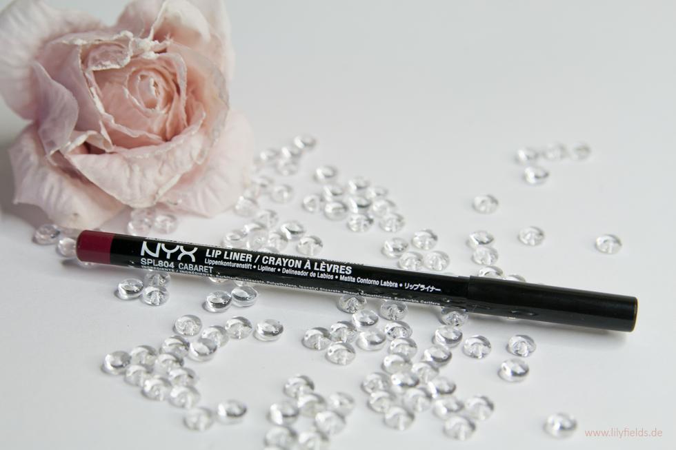 NYX - Lippenkonturenstift Slim Lip Pencil Cabaret 804