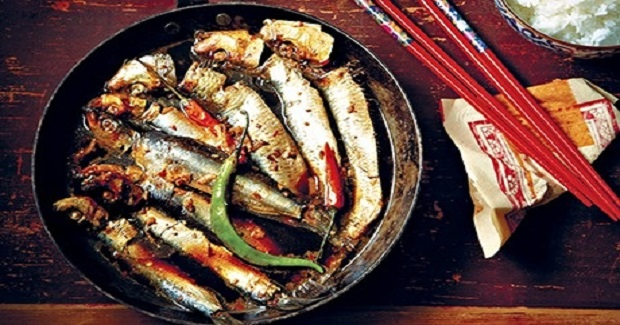 Caramelised Sardines In Coconut Water Recipe
